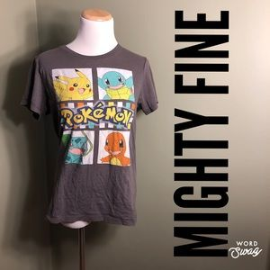 L Mighty Fine presents Pokemon tee-shirt